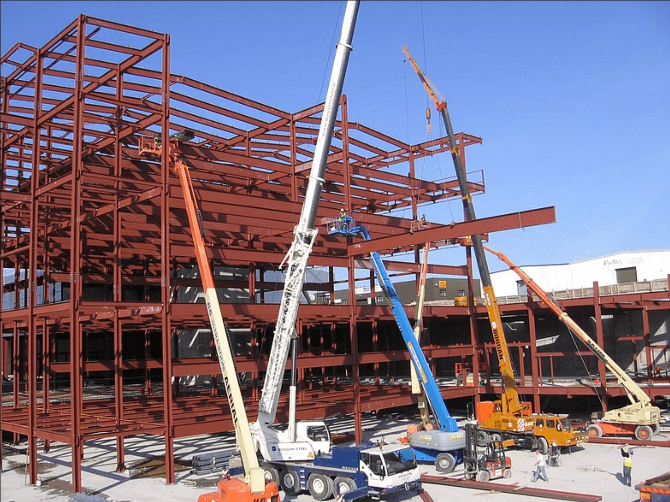 Steel Erection Best Practices For Cranes and Equipment