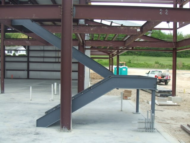Steel Erection Best Practices For Unloading & Shaking Out Stairs