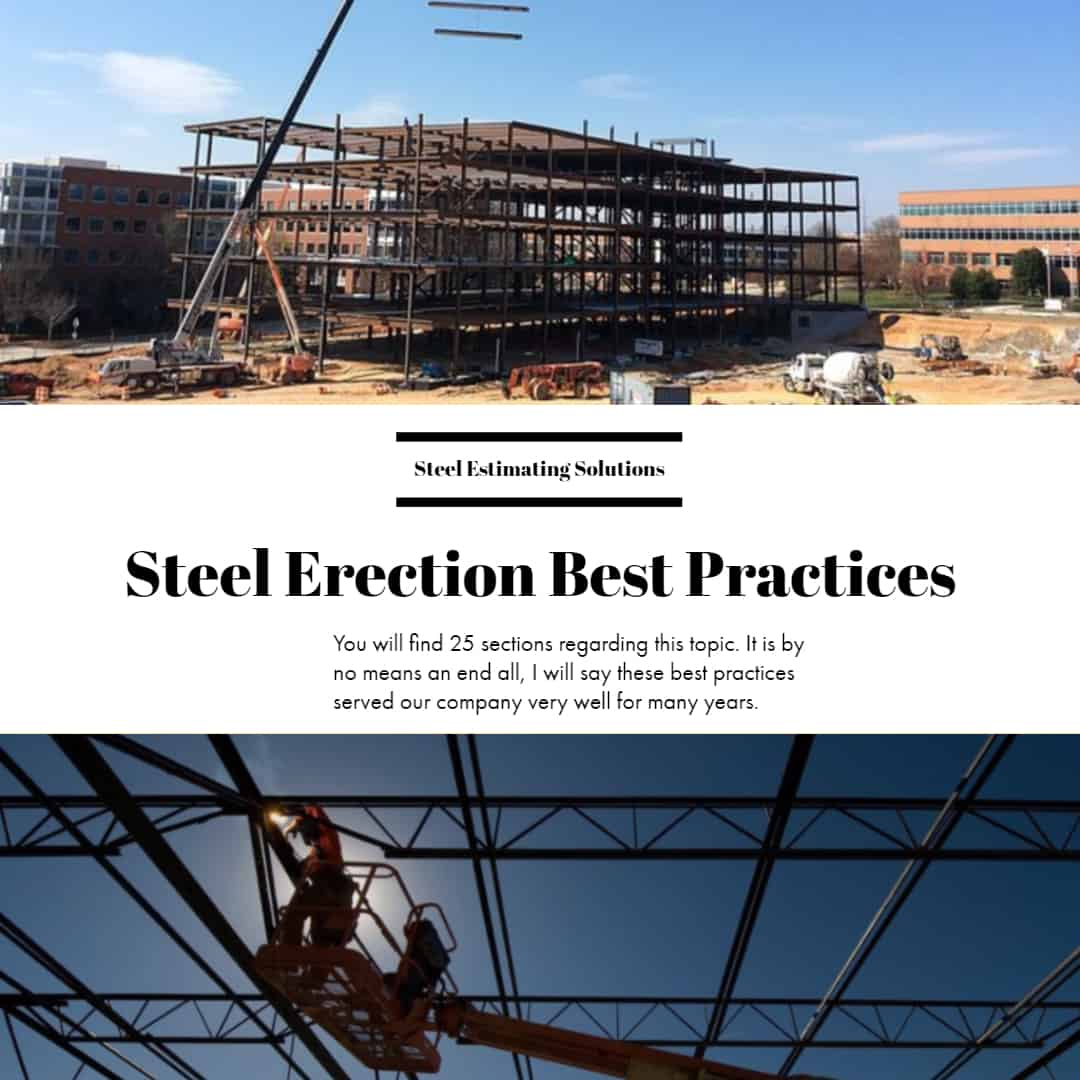 Steel Erection Best Practices