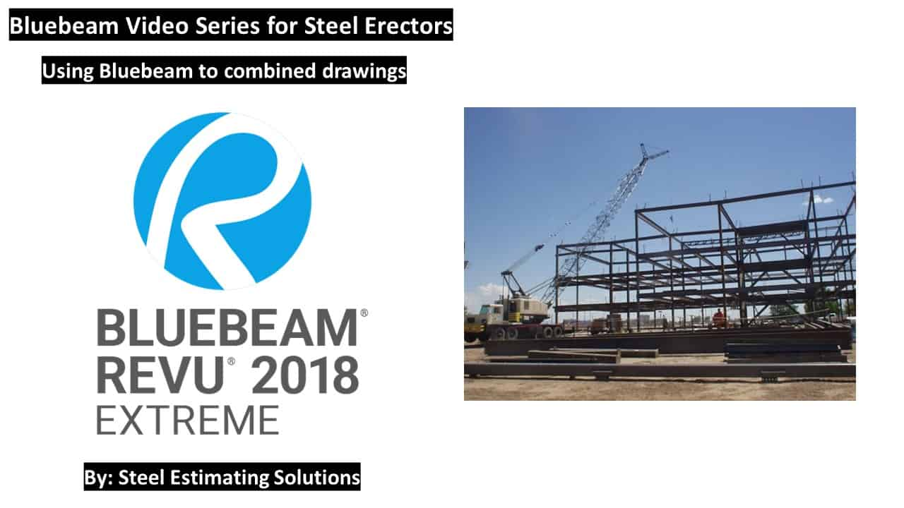Using Bluebeam To Combined Drawings
